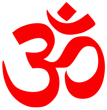 om symbol sacred sound and a spiritual icon in Hindu religion