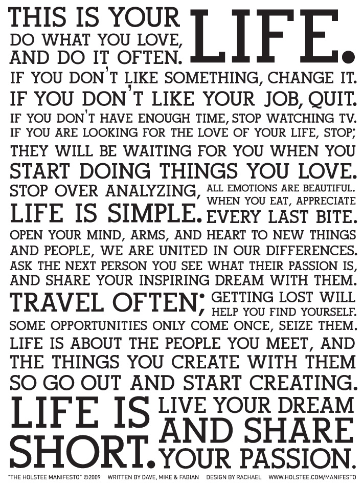 Life Quotes And Famous Quotes And Sayings About Life In General Inspiration This Is Your Life Quote Poster