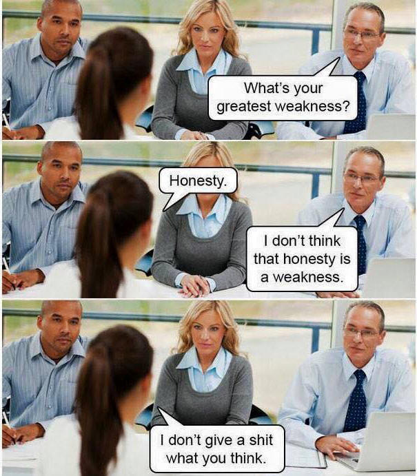Is Honesty a Weakness?