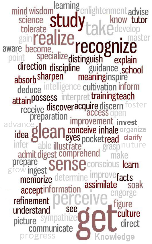 Word Cloud for Learning