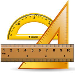 Ruler - Protractor - Square