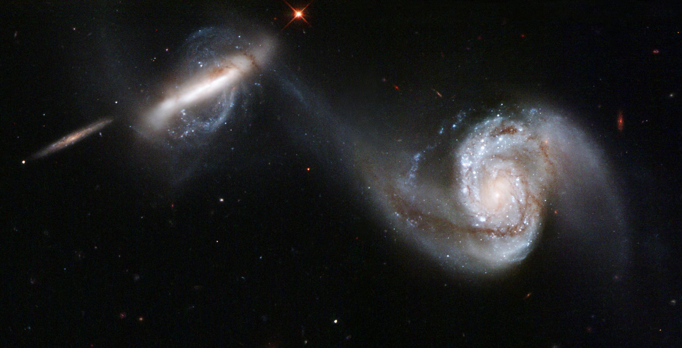 Galaxy Pair Arp 87