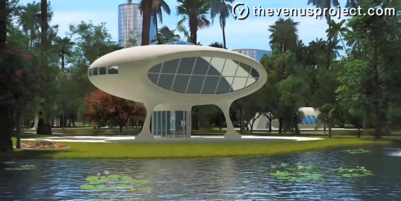 Futuristic building designs from the venus project for Futuristic home plans