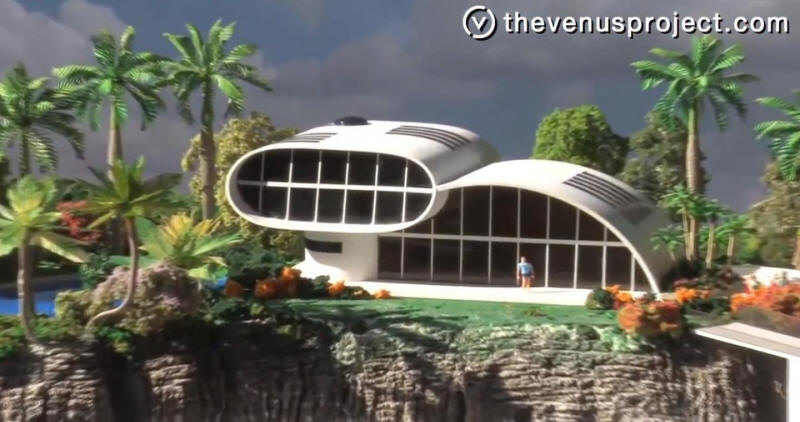 Futuristic Building Designs Venus Project