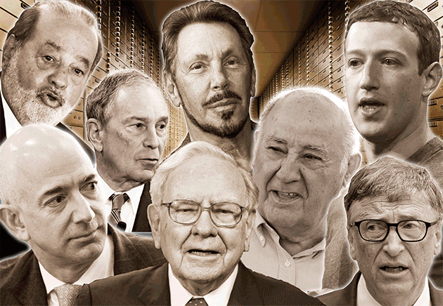 Eight Richest Men in the World