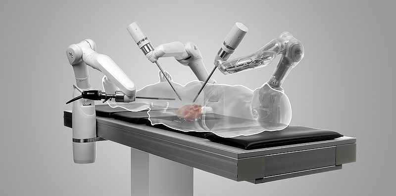 Minimally Invasive Surgery by Robots