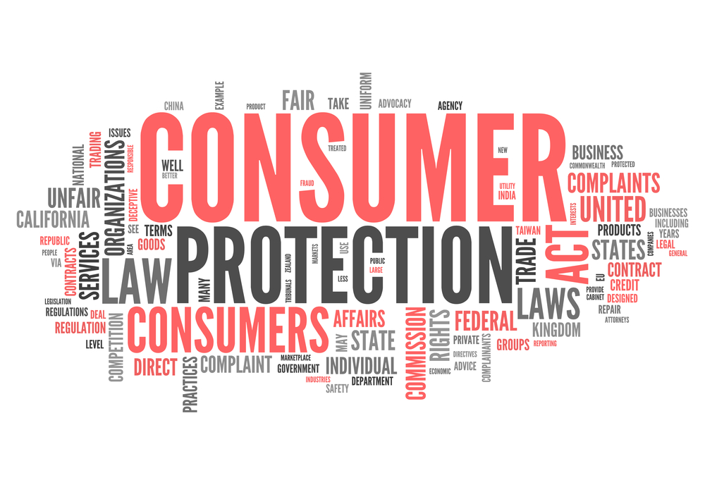 consumer protection word cloud