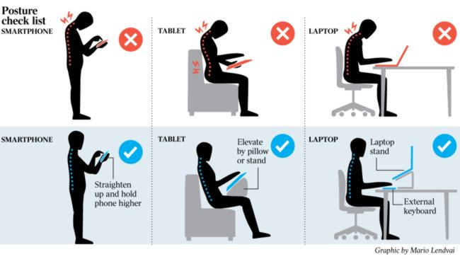 Good Posture Positions