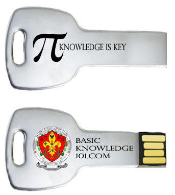 Knowledge is Key Flash Memory Drive