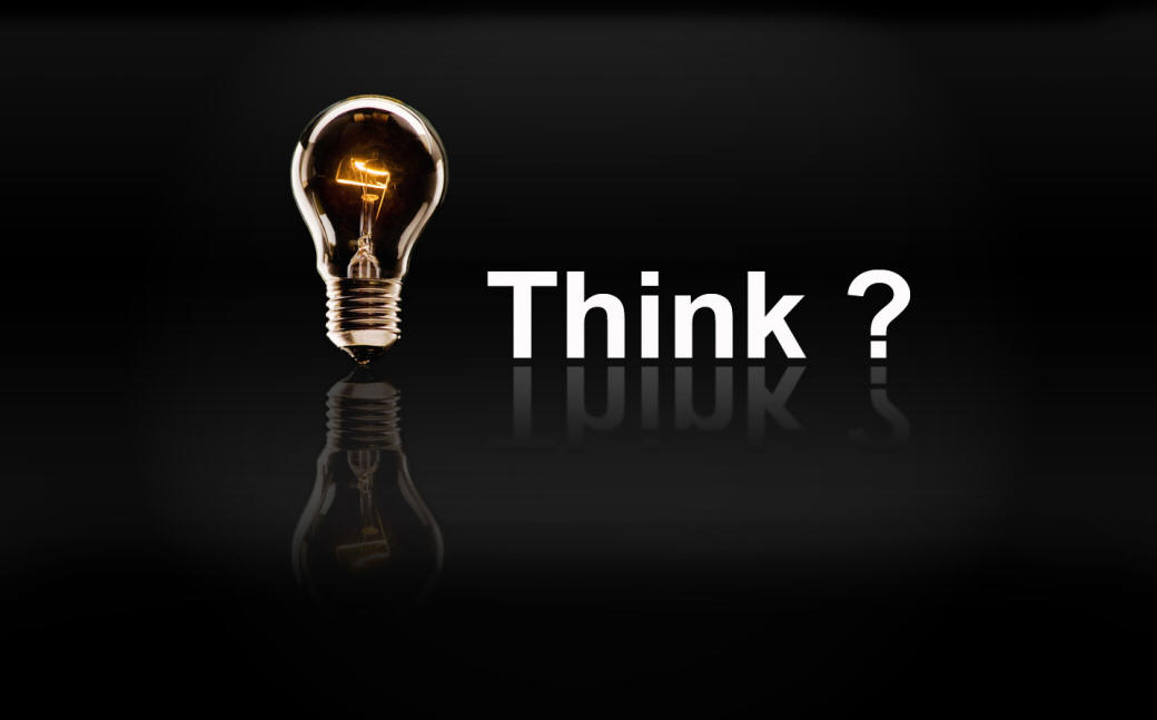 Think Idea Lightbulb